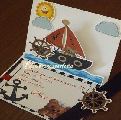convite marinheiro