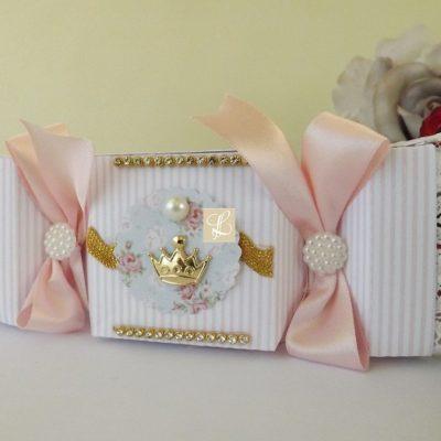 bombom de papel luxo