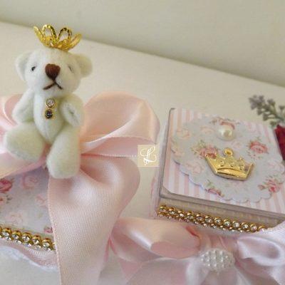 caixa acrílico luxo