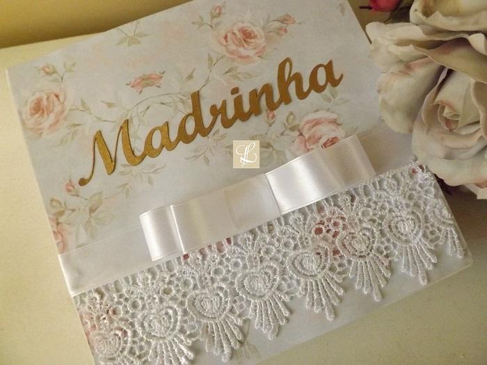 caixa madrinha de casamento